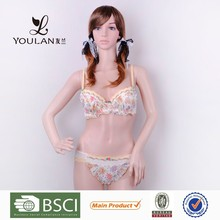 Hot Sale Young Sexy Lady Blue Bow Tie Made In China Export Underwear