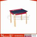 plan de cubby ajustable altura de jardín de infantes de los niños de la escuela de madera mesa de los niños
