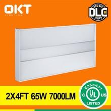 OKT Lighting DLC UL cUL 0-10V Dimming 65W 2X4ft LED Troffer Meanwell driver