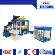 Hydraulic pressure QT8-15 Vibration method block brick making/color pavers bricks/interlocking blocks making machine
