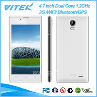 Ali baba 4.7 inch MTK6572 Dual Core 5M Camera Dual SIM 3G Android Mobile