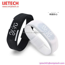 New Products For 2015 Sport Wrist Digital Touch LED Watch Silicon LED Watch