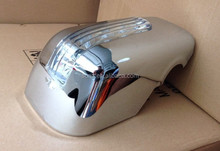 DOOR MIRROR COVER WITH LED FOR TOYOTA AVANZA 2012 CHROMED KITS NEW CHROME ACCESSORIES best selling car accessories