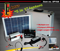 10W Portable Solar Kits Solar Power Generator With Battery and Charger