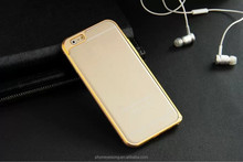 Ultra thin metal bumper cellphone case for iphone 6