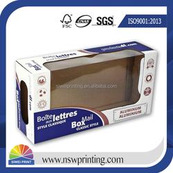 China Factory Custom Corrugated Paper Box Wholesale