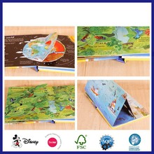 Hardcover Thick Paper Greyboard Children Perfect Binding Board Book
