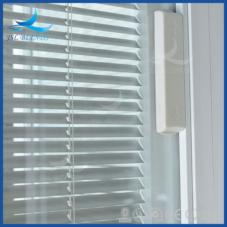 Cheap windows with built in blinds door glass inserts for Windows with built in shades