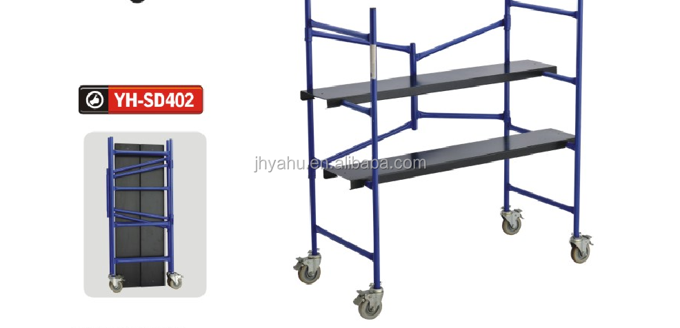 Portable Scaffolding Platform : Portable folding scaffolding platform with wheels buy