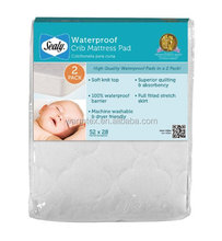 Waterproof infants Mattress Cover White 52 X 28