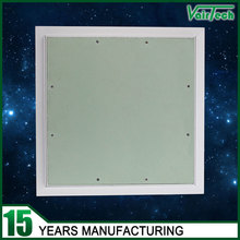 spring press loaded white coating aluminum frame ceiling access panel with gypsum board
