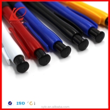 Hot sale new design cheap polymer clay ball pen bic round stic pen