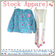 Children Girl Clothes Set Wholesale /cheap baby girl Clothing