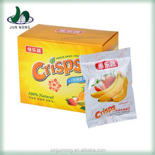 2015 Banana chips, freeze dried fruit, dried fruit