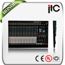 TS-16P-4 digital 8/16/24 MIC and Line Input audio video mixer