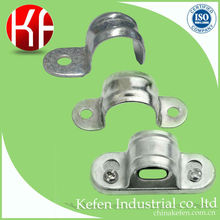 saddle for steel pipe, saddle clamp for steel pipe, electrical gi conduit saddle