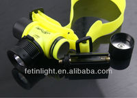 LED diving headlamp CREE led flashlight Td1 diving flashlight