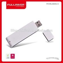 Mini y portátil 802.11n 2T2R 2.4 / 5 GHz USB adaptador inalámbrico tarjetas de red wifi adaptador USB Made in China