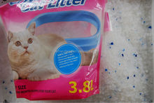 1-8mm high grade natural silica gel /bentonite cat litter