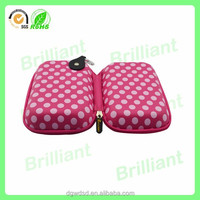 fashion hard case cosmetic bag with cute dots