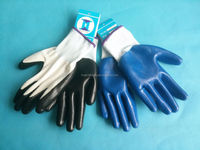 13GUAGE ZEBRA POLYESTER SHELL COATED NITRILE GLOVES SMOOTH FINISH WORK WORKING LABOR SAFETY GLOVES work gloves