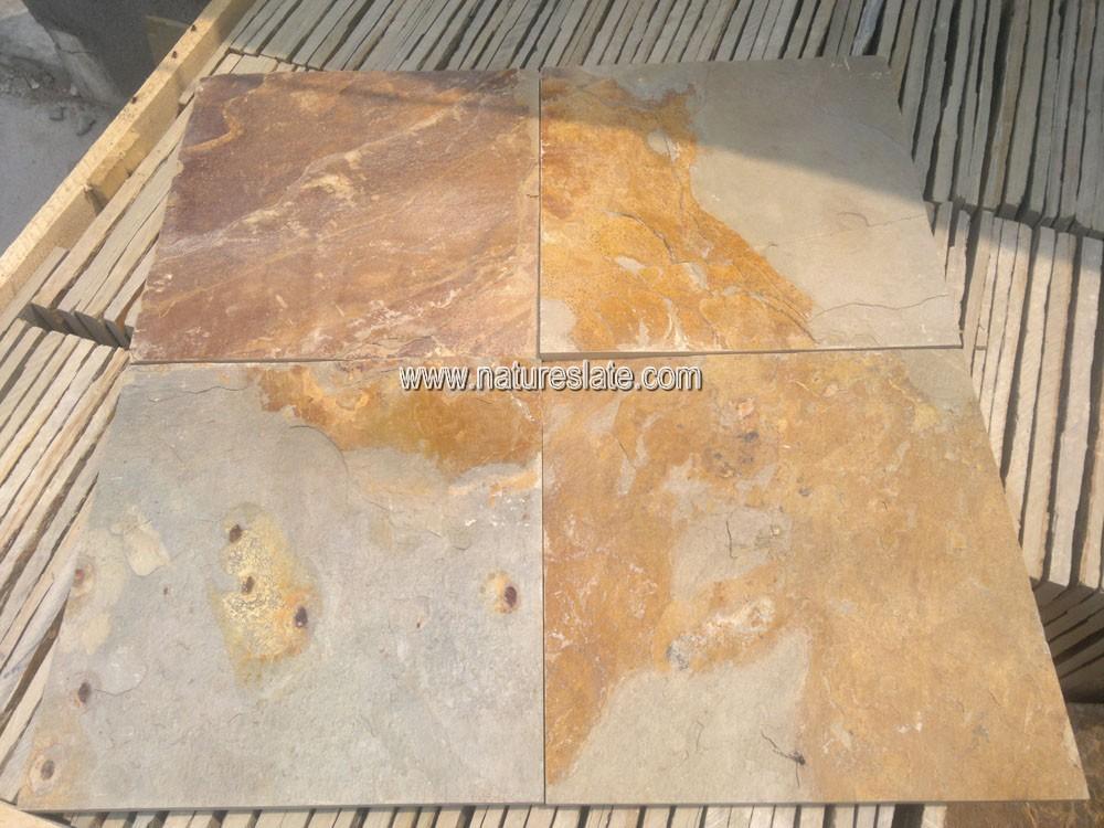 Exterior baldosas de pizarra r stica para el piso pizarra - Baldosas rusticas para exterior ...