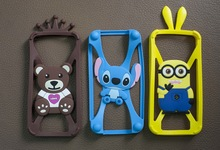 3d silicon case for iphone 5 Silicone Phone Case Cover for IPHONE5,5S
