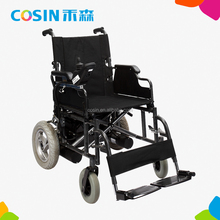 folding light electric power wheelchair for handicap and invalid