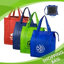 Laminated Non Woven Cooler Bag Insulated Large Tote