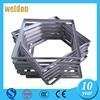 WELDON good quality metal photo frame door frame metal detector stainless frame