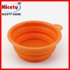 Silicone Pet Bowl/ Dog Bowl/ Pet Dishes,collapsible dog bowl