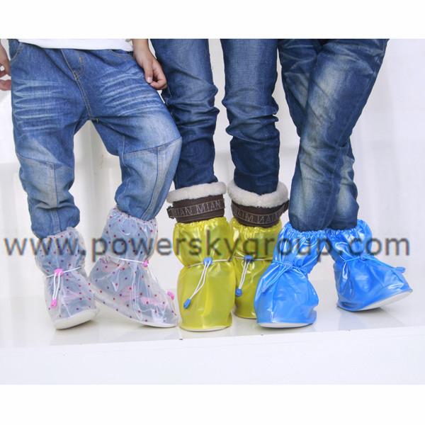 PY602 children flat heel adjustable shoe cover.JPG