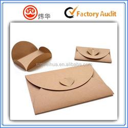 2015 customized brown kraft paper envelopes