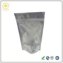 Plastic aluminium foil pouch with zip lock, aluminum laminated foil pouch