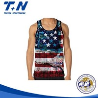 low cut bodybuilding wholesale men tank tops