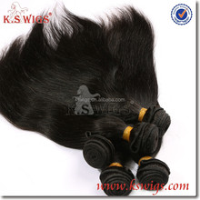 K.S WIG 26inch natural color high quality virgin brazilian knot hair extension