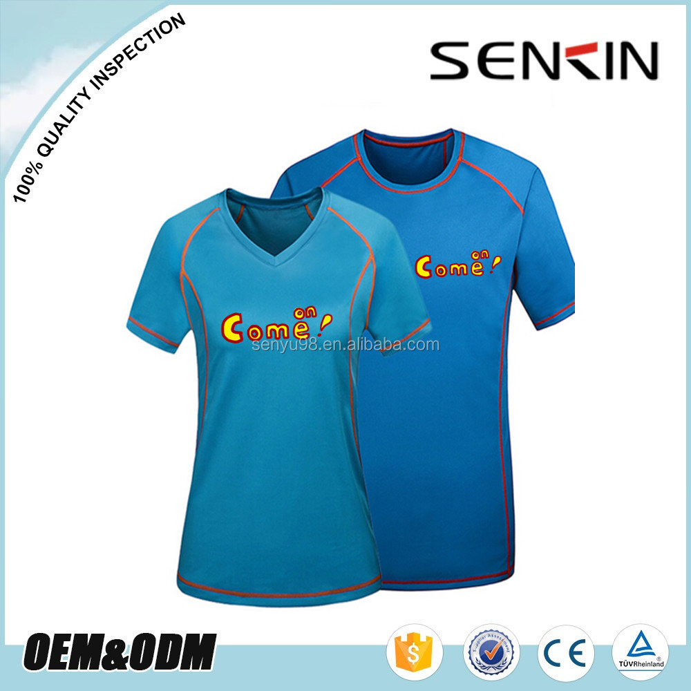 Wholesale 100 Polyester Blank T Shirts Screen Printing