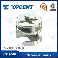 [CF.3060] Zinc nickel furniture assembly Zinc alloy furniture connector cam
