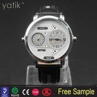 brand new clock hands watch small quantity order leather wristwatch crocodile skin price watch