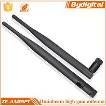 Bydigital Rubber 2.4GHz Wifi Anenna Wifi Booster Antenna 5dbi 3g Wifi Router External Antenna
