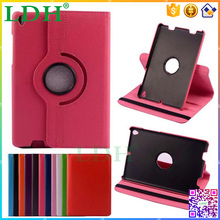 Factory Price 360 Degree Rotating Stand PU Leather Flip Case Cover For Xiaomi Mipad