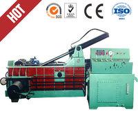 Y81-160B hydraulic scrap metal packaging machine, metal packer, fabric waste recycled scrap bottles and car