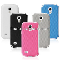Ball grain filp cover case for Samsung galaxy S4 mini with 5 colors
