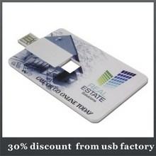 Tarjeta de crédito barato del disco de U