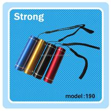 Multicolour 3*AAA battery Led mini Flashlight
