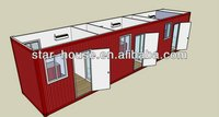 Fast installation container house for car garage