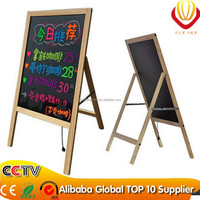 alibaba express hot new products for 2015 advertising screens wooden LED writing board alibaba best sellers