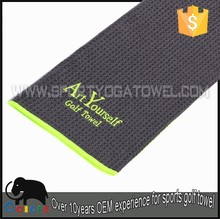 Wholesale personalized souvenirs magic delivery soon golf towel