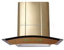 600MM TOUCH SWITCH EUROPEAN RANGE HOODS WITH FULL GOLD COLOR
