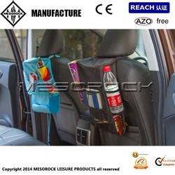 Travelling Car Interior Seat Organiser Tidy with Cool / Hot Fridge Insulated Bag
